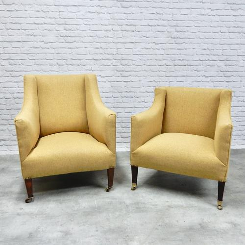 2 19th Century Upholstered Armchairs (1 of 5)