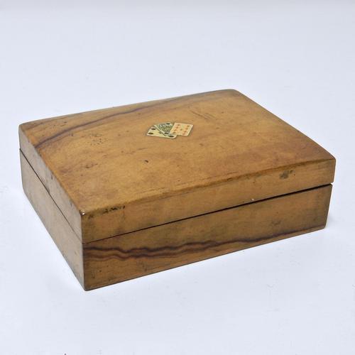 Walnut Playing Card Box (1 of 1)