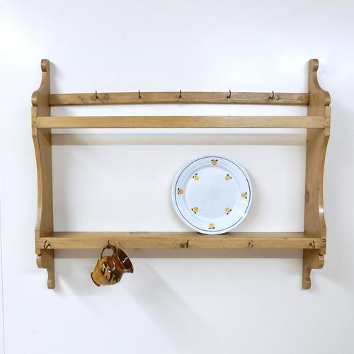 Antique Pine Wall RAck (1 of 1)