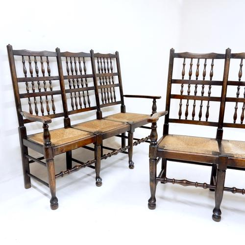 Edwardian Spindle-back Hall Chairs (1 of 1)