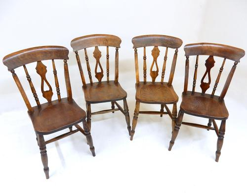 Set of 4 Windsor Chairs (1 of 1)