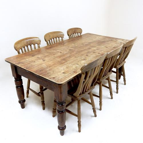 Victorian Farmhouse Kitchen Table (1 of 1)