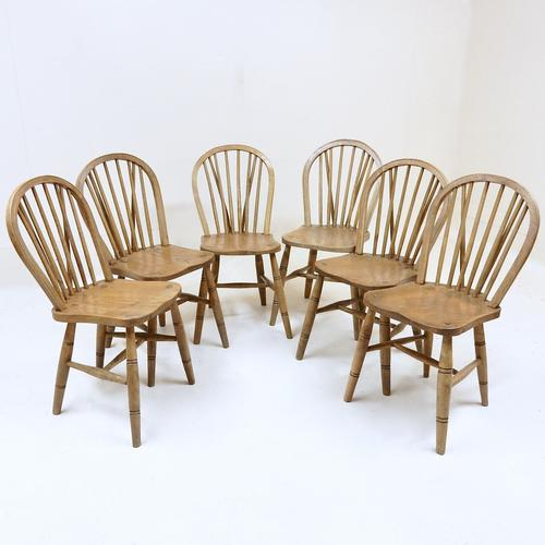 Set of 6 Windsor Hoopback Kitchen Chairs (1 of 1)
