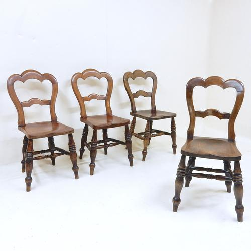 Antique Windsor Kitchen / Dining Chairs (1 of 1)