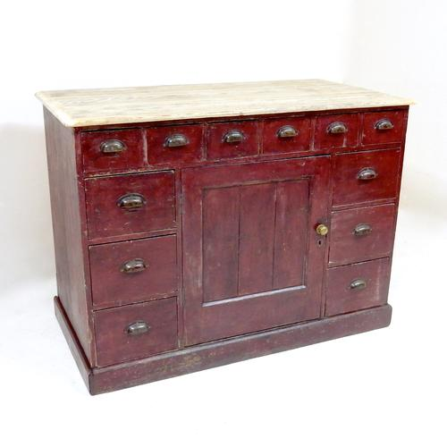 Antique Pine Counter (1 of 1)