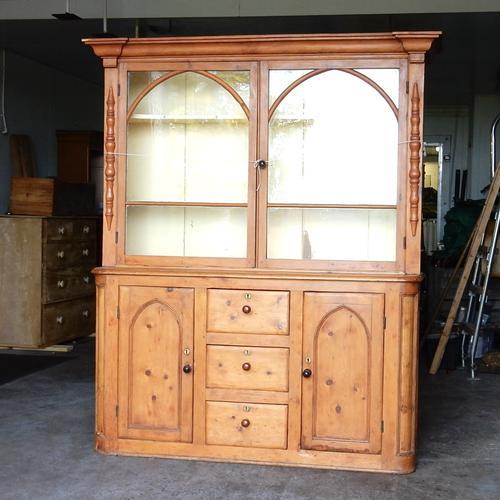 Glazed West Country Pine Dresser (1 of 1)