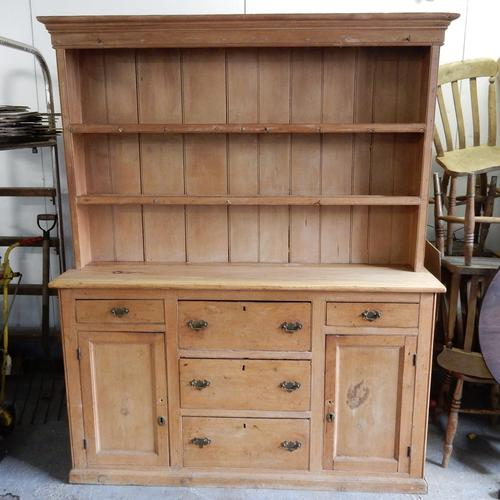 Antique Pine Dresser (1 of 1)