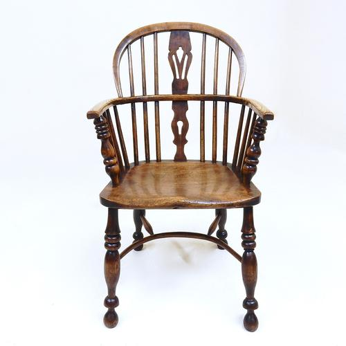 Antique Windsor Lowback Chair (1 of 1)
