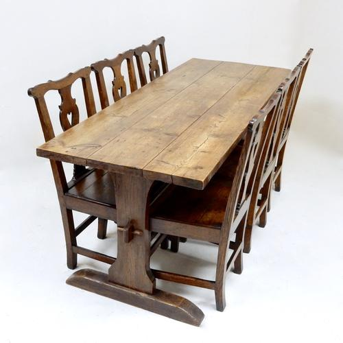Antique Pine Refectory Table (1 of 1)