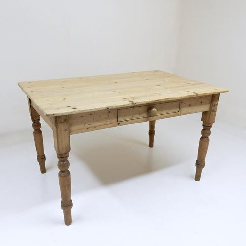 Antique Pine Kitchen Table (1 of 1)