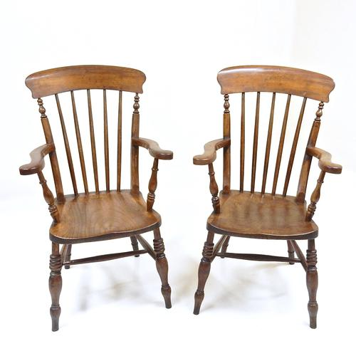 Pair of Stickback Windsor Armchairs (1 of 1)