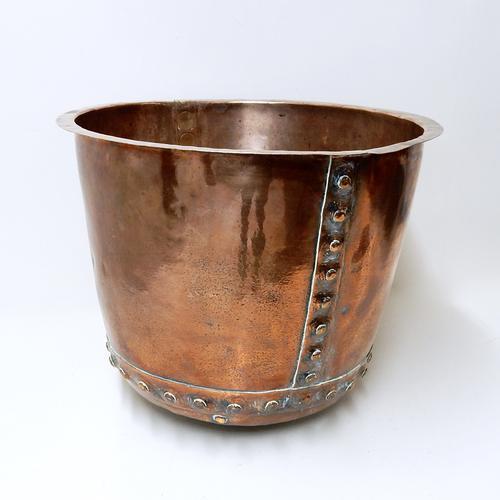 Riveted Copper Cauldron (1 of 1)