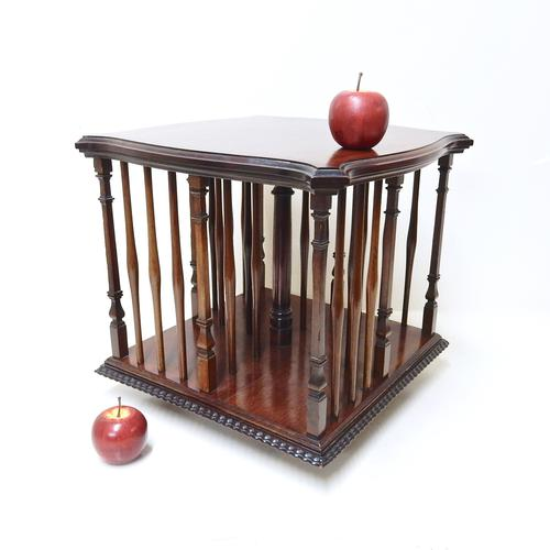 Revolving Table Top Bookcase (1 of 1)