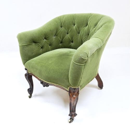 Victorian Tub Chair (1 of 1)