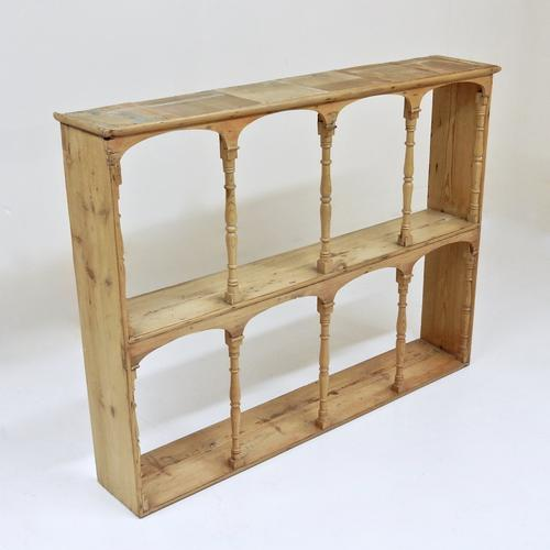 Victorian Pine Wall RAck (1 of 1)