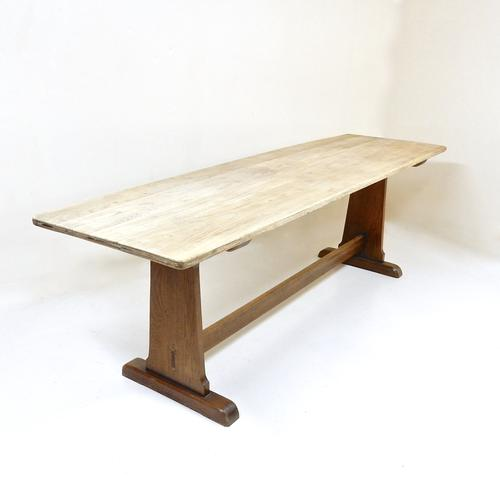 Oak Refectory Table (1 of 1)