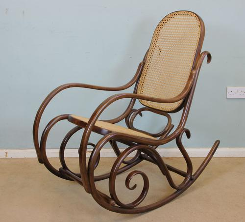 Vintage Bentwood Rocking Chair (1 of 1)