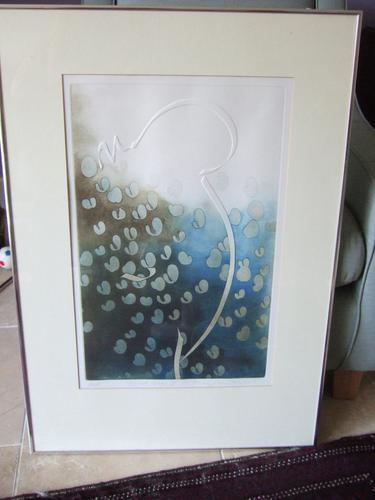 """Mary Farl Powers Limited Edition Print """"Cloud Torso 2"""" (1 of 4)"""