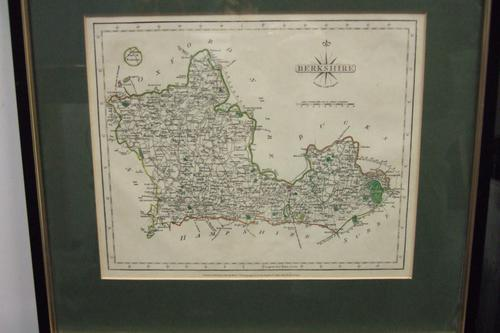 18th Century Map of Berkshire by John Cary (1754-1835) (1 of 1)