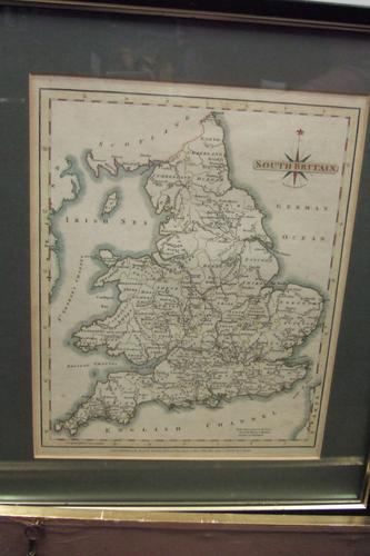 18th Century Map of South Britain by John Cary (1 of 1)