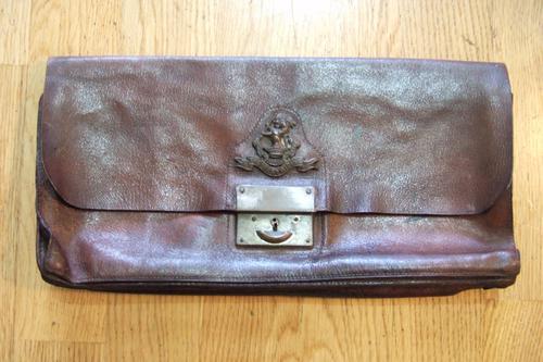 WW1 Period Dispatches Bag, Duke of Wellington's Regiment (West Riding) (1 of 1)