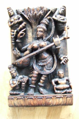 1950'S Indian Wood Carving (1 of 1)