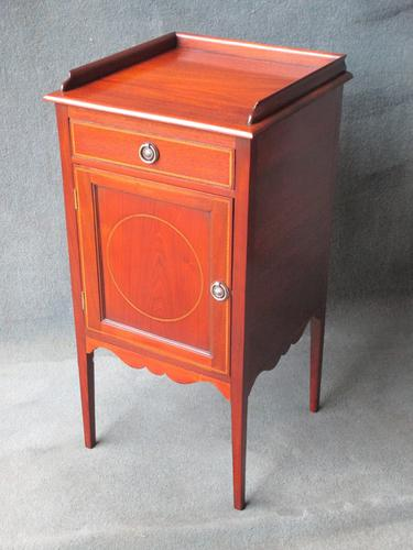 Victorian Mahogany Pot Cupboard C.1890 (1 of 1)