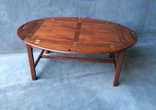 Mahogany Butlers Tray with Folding Sides c.1920 (1 of 1)