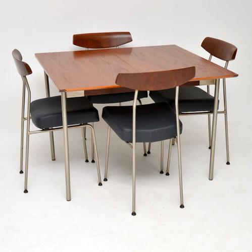 1950s Vintage Teak Dining Table Chairs By John Sylvia Reid For Stag La126379 Loveantiques Com