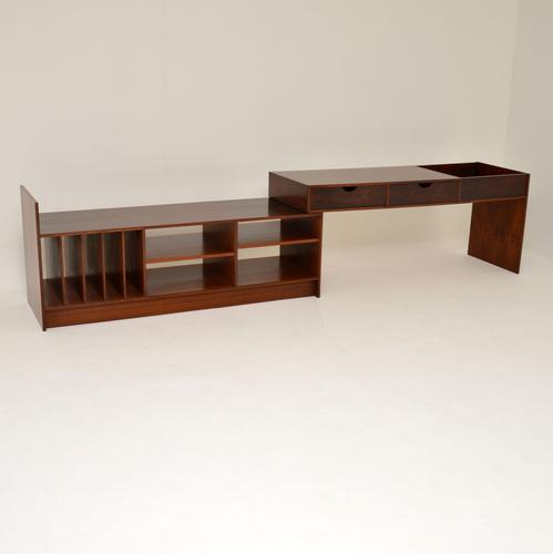 1960s Swedish Rosewood Extending Sideboard / Media Cabinet (1 of 12)
