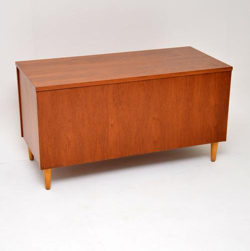 1960s Teak Vintage Storage Box / Ottoman / Blanket Chest (1 of 12)