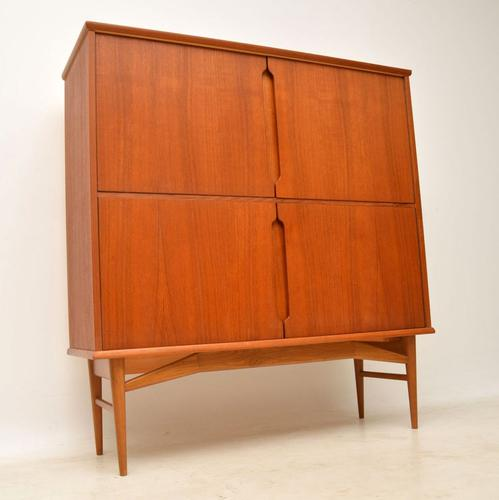 1960s Danish Vintage Teak Fredericia Drinks Cabinet (1 of 12)