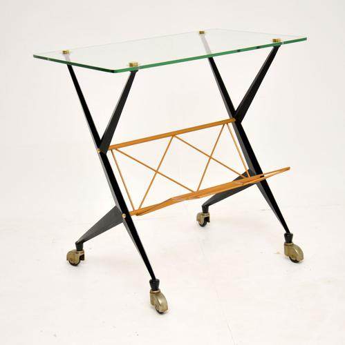 1960s Vintage Italian Side Table by Angelo Ostuni (1 of 13)