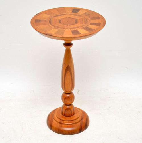 1960s Vintage Side Table in Various Inlaid Woods by Sovereign New Zealand (1 of 10)