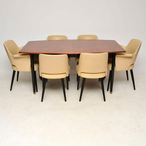 1950s Vintage Dining Table & Chairs by Robin Day For Hille (1 of 14)