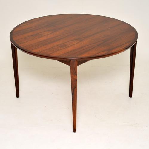 1960s Danish Rosewood Dining Table by Rosengren Hansen (1 of 12)
