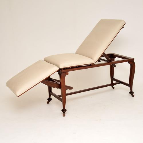 Antique Victorian Doctors Bed / Chaise Longue (1 of 12)