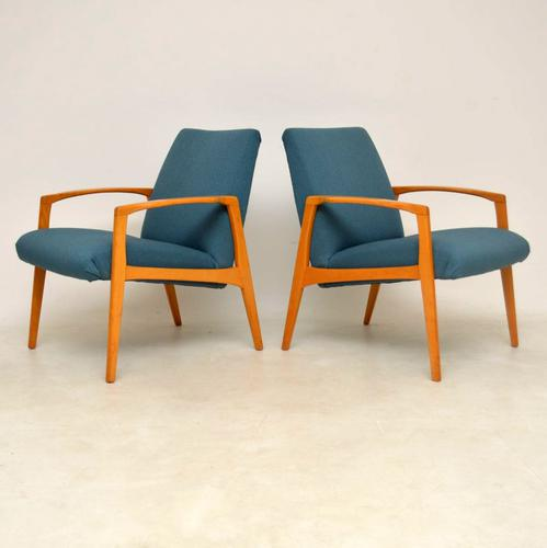 1960s Pair of Swedish Vintage Armchairs (1 of 12)