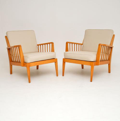 1950s Pair of Vintage Armchairs by George Stone (1 of 11)