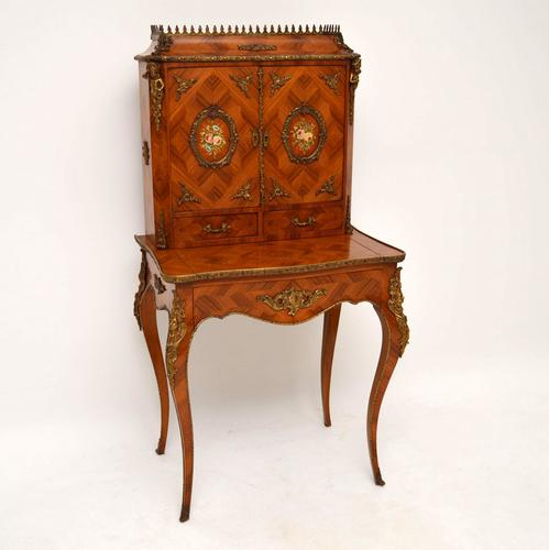 French Kingwood Escritoire Writing Desk (1 of 1)