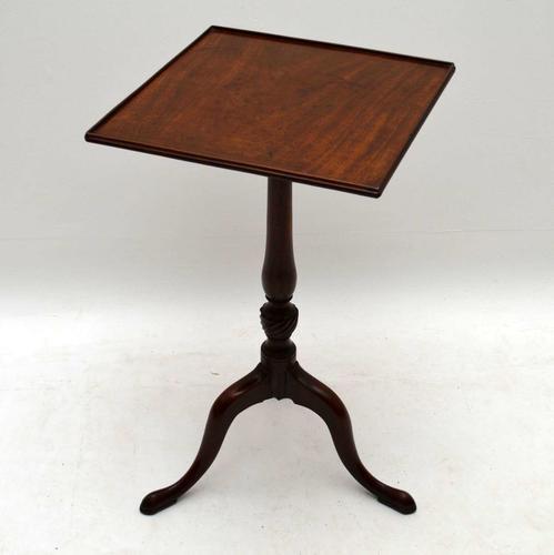 Antique Georgian Mahogany Tripod Table (1 of 1)