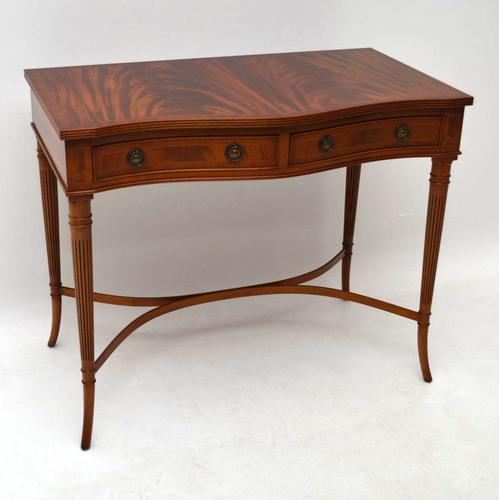 Regency Style Mahogany Console Table (1 of 1)