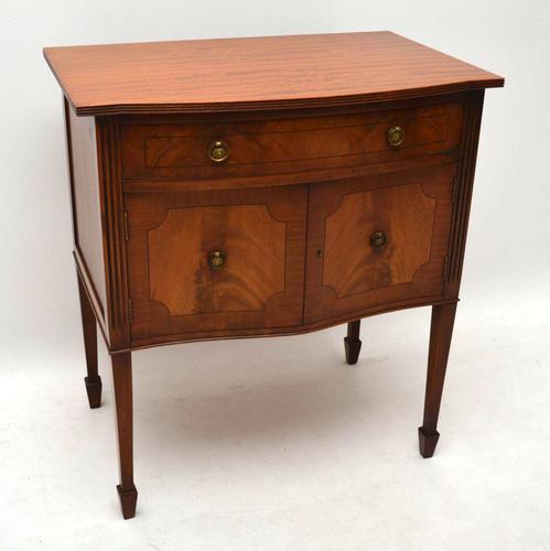 Inlaid Mahogany Cabinet on Legs c.1930 (1 of 1)