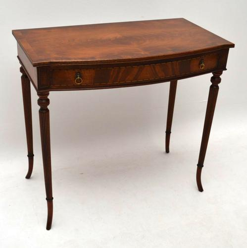 Regency Style Mahogany Console / Side Table c.1920 (1 of 1)