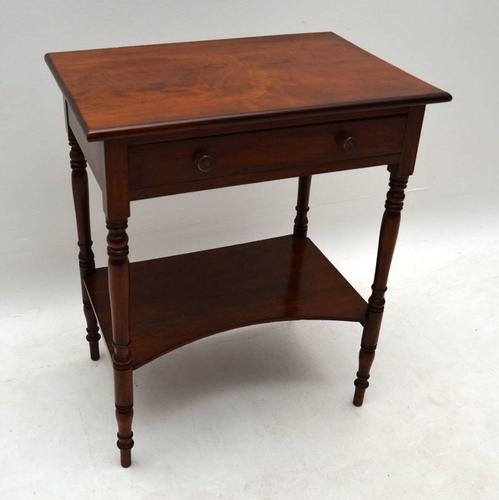 Antique Victorian Mahogany Side Table (1 of 1)