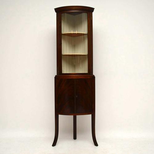 Mahogany Corner Cabinet C.1930 (1 of 1)