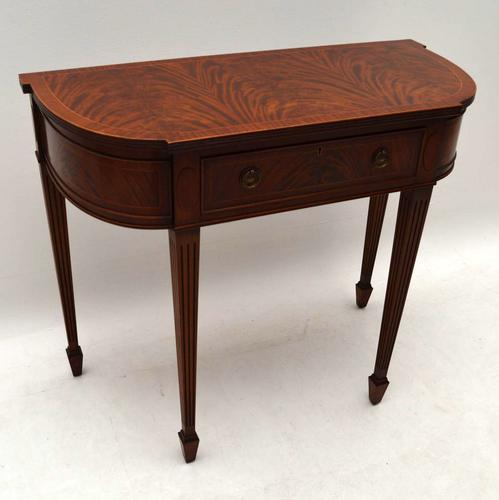 Mahogany Console Side Table c.1950 (1 of 1)
