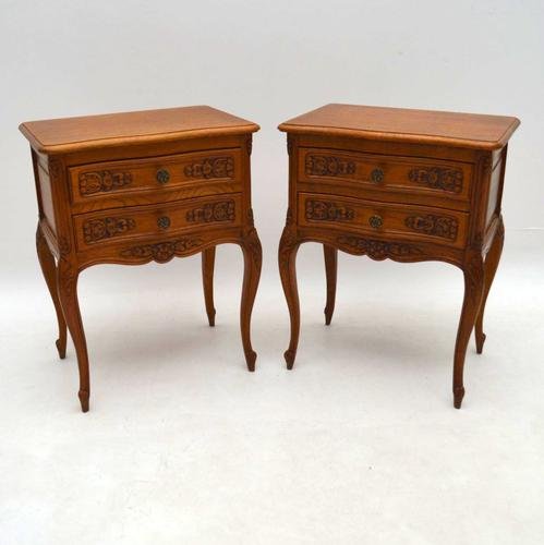 Pair of French Bedside Chests c.1920 (1 of 1)