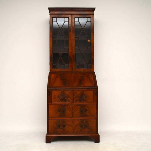 Antique Mahogany Bureau Bookcase (1 of 1)