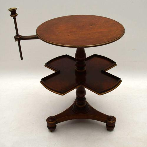 Antique Victorian Walnut Occasional Table (1 of 1)